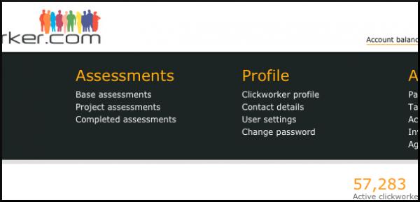 Clickworker Profil