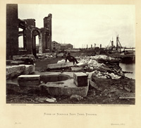Ruins of Norfolk Navy Yard,