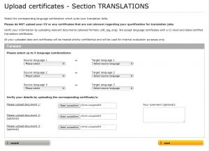 Clickworker jobs with certificates