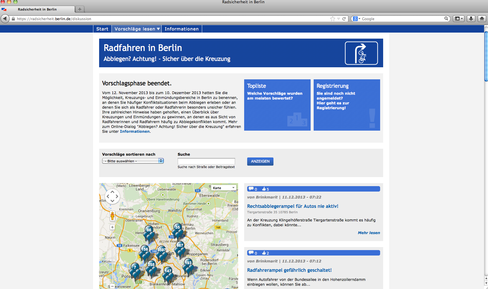 Berlin bike safety