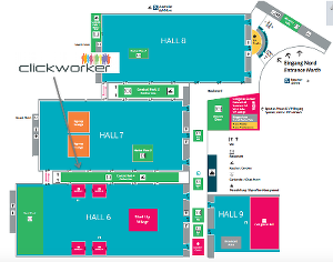 dmexco Map | Meet us - clickworker.com