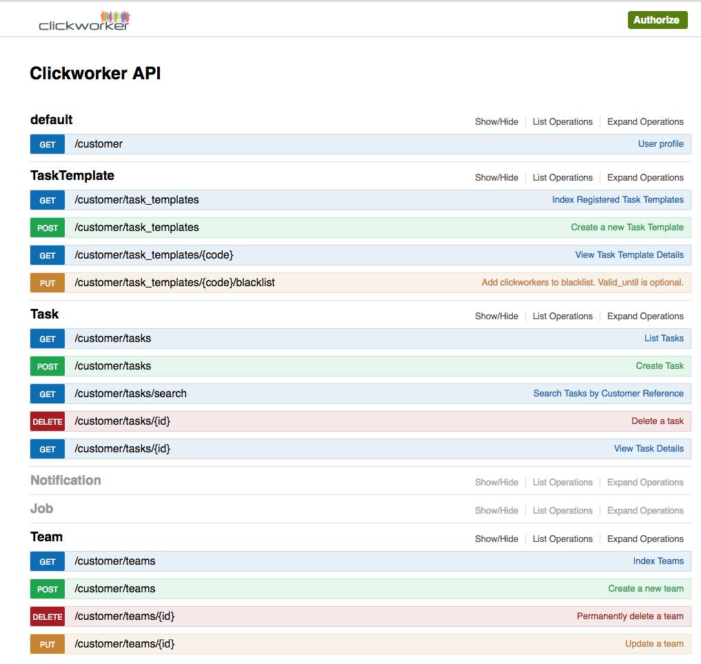 The new API Explorer - simple data transmission via API by