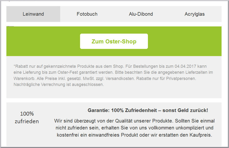 E-Mail Marketing Blickfang