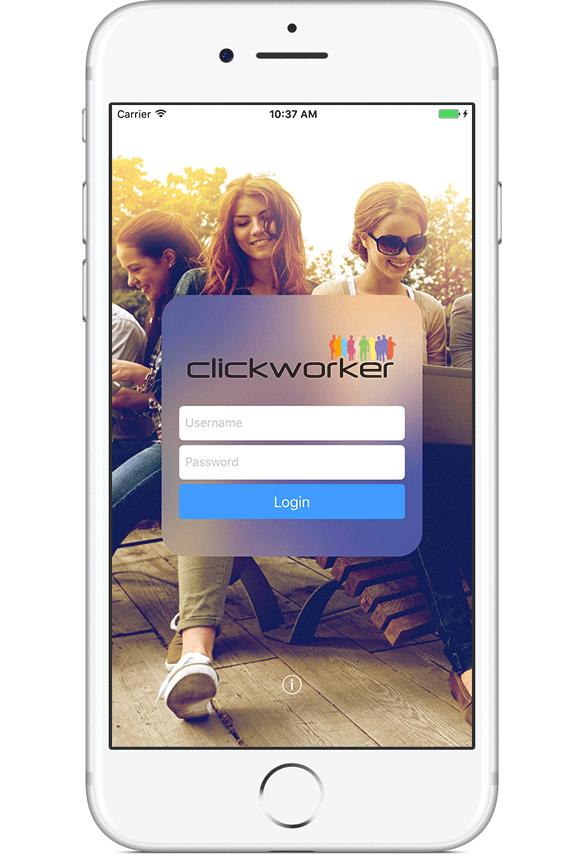 Nutzen Sie Ihr Clickworker-Konto