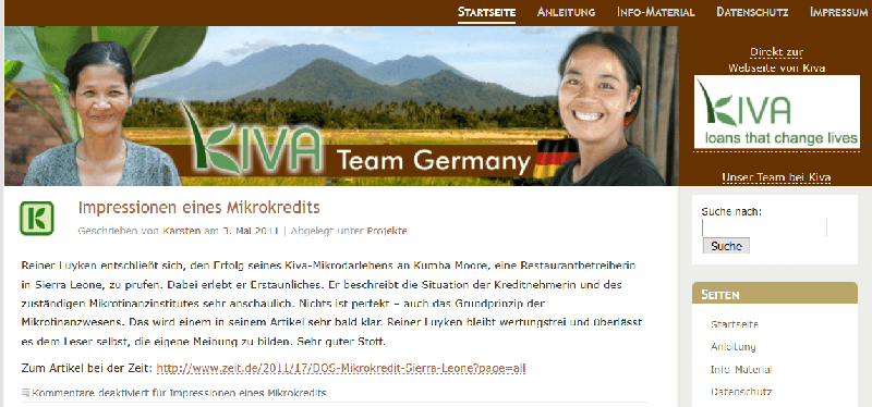 Kiva Team Germany