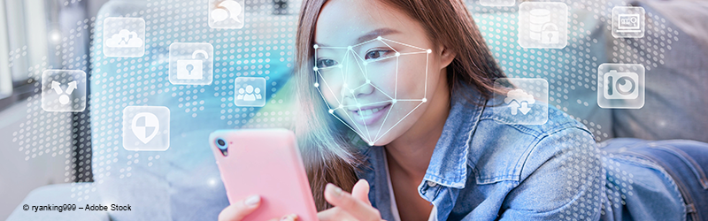 Online face recognition